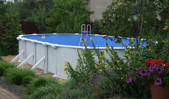 Baseny ogrodowe przenośne tej wielkości z powodzeniem zastępują tradycyjne baseny wkopywane w ziemię